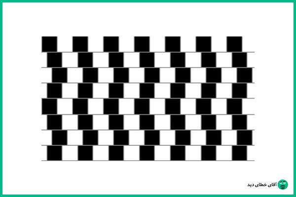خطوط موازی و خطای دید
