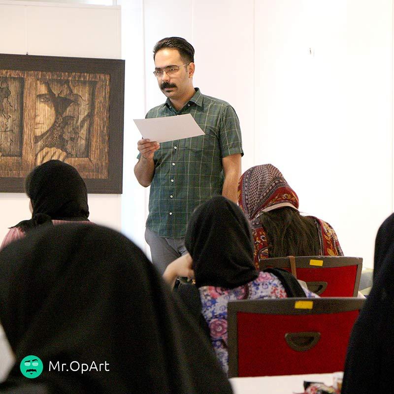 ورکشاپ نقاشی سه بعدی در برج میلاد برگزار شد