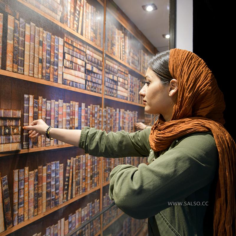 نقاشی سه بعدی دیجیتال کتابخانه بینهایت