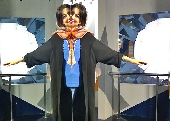 آینه در موزه خطای دید تهران