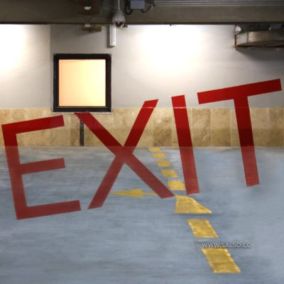 Tirazhe 2 Parking Guide Optical Illusion Exit Sign
