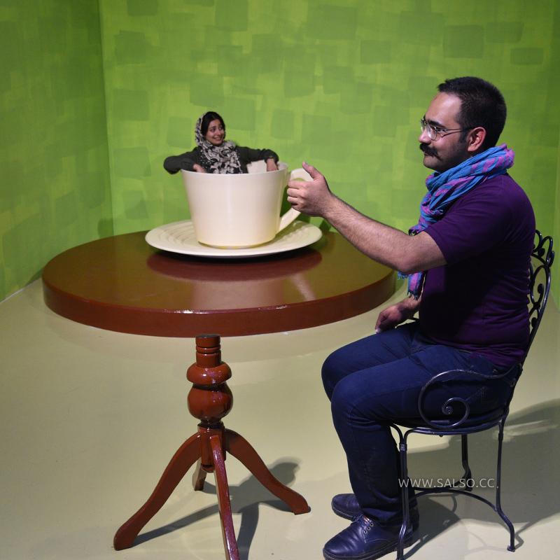میز خطای دید ریورسپکتیو