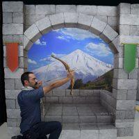 آرش کمانگیر در رویا پارک
