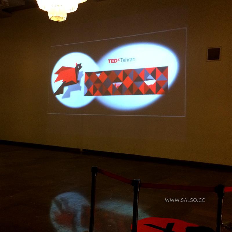 نورپردازی تعاملی رویداد تدایکس 2014