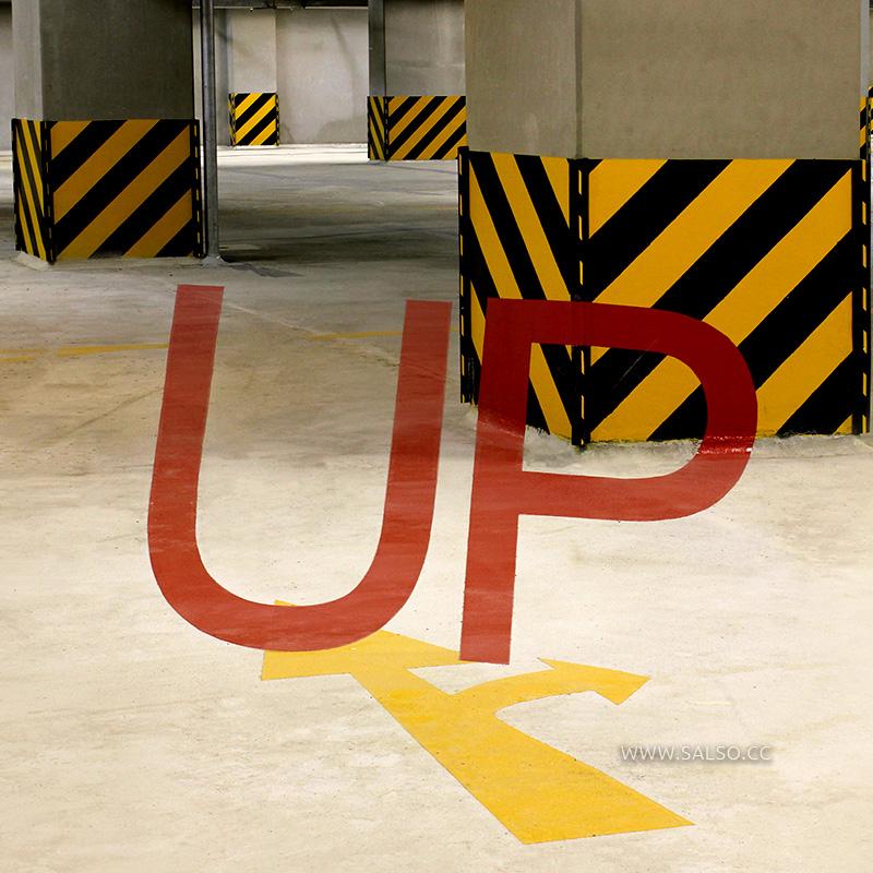 تابلوی خطای دید راهنمای پارکینگ تیراژه۲ UP