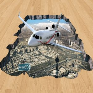 طرح هواپیما سه بعدی