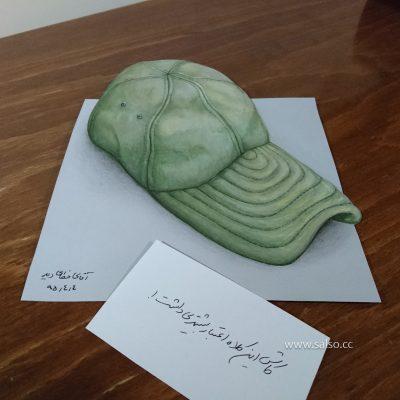 نقاشی سه بعدی سرباز