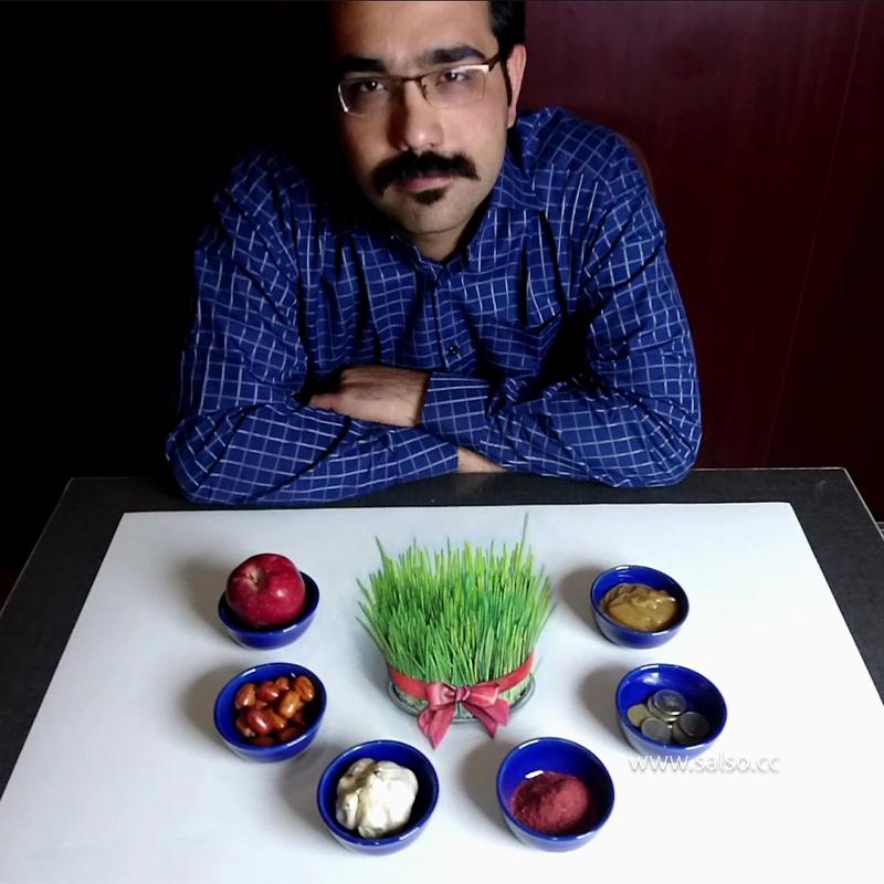نقاشی سه بعدی عید نوروز
