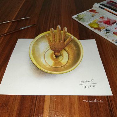 نقاشی سه بعدی محرم