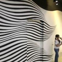 تابلو خطای دید خطوط مواج