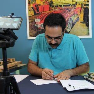 ویدیو آموزش نقاشی سه بعدی نردبان و پله پاپ آپ آرت + شابلو الگو نقاشی