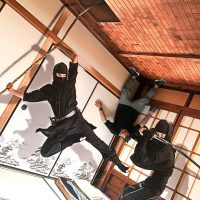 استیکر سه بعدی سامورایی